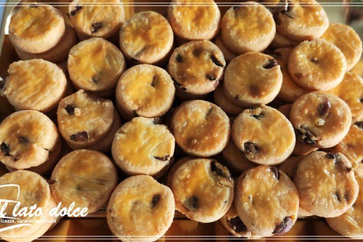 Biscotti parmigiano e pistacchio