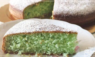 Torta verde alla menta e cocco