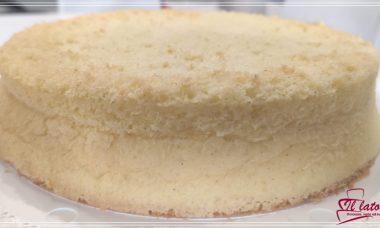pan di spagna classico alla vaniglia