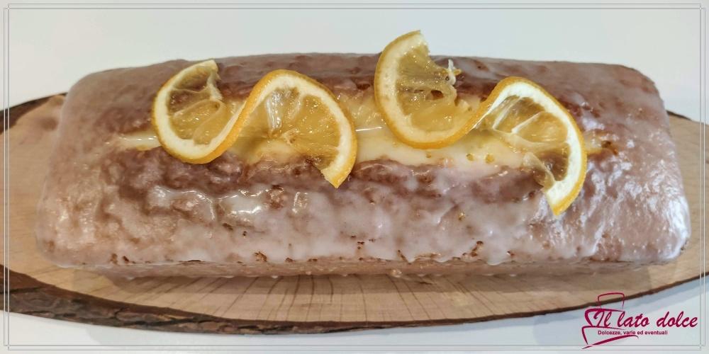 plumcake al limone soffice e profumato